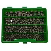 Assortiment zeskantmoeren DIN 934, RVS A2